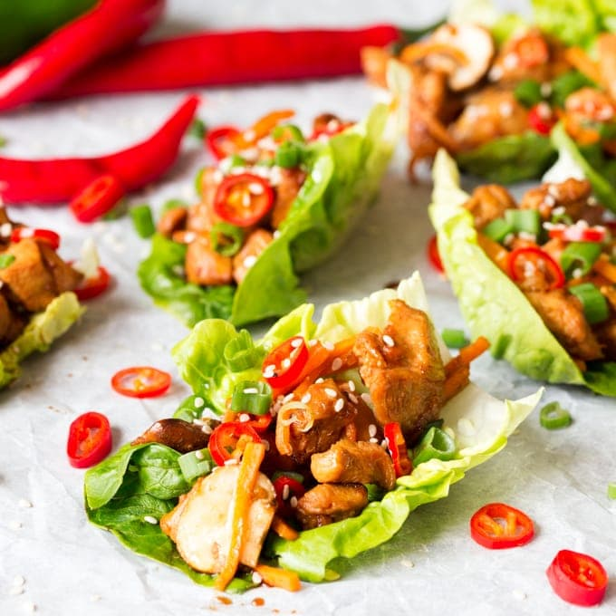 lettuce wraps TasteSpotting