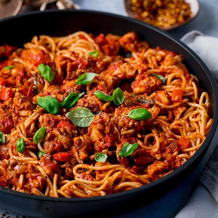pasta pomodoro recipe chicken stock
