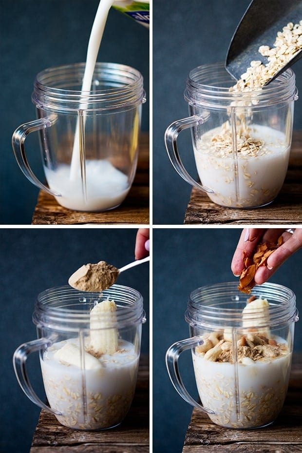 White Chocolate Coconut Cashew Hot Smoothie