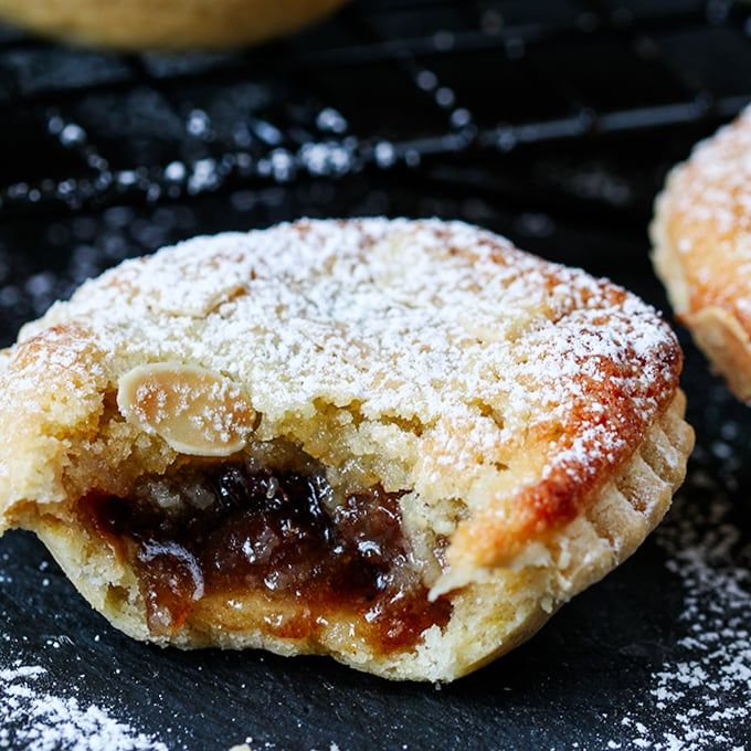 Frangipane Mince Pies - Nicky's Kitchen Sanctuary