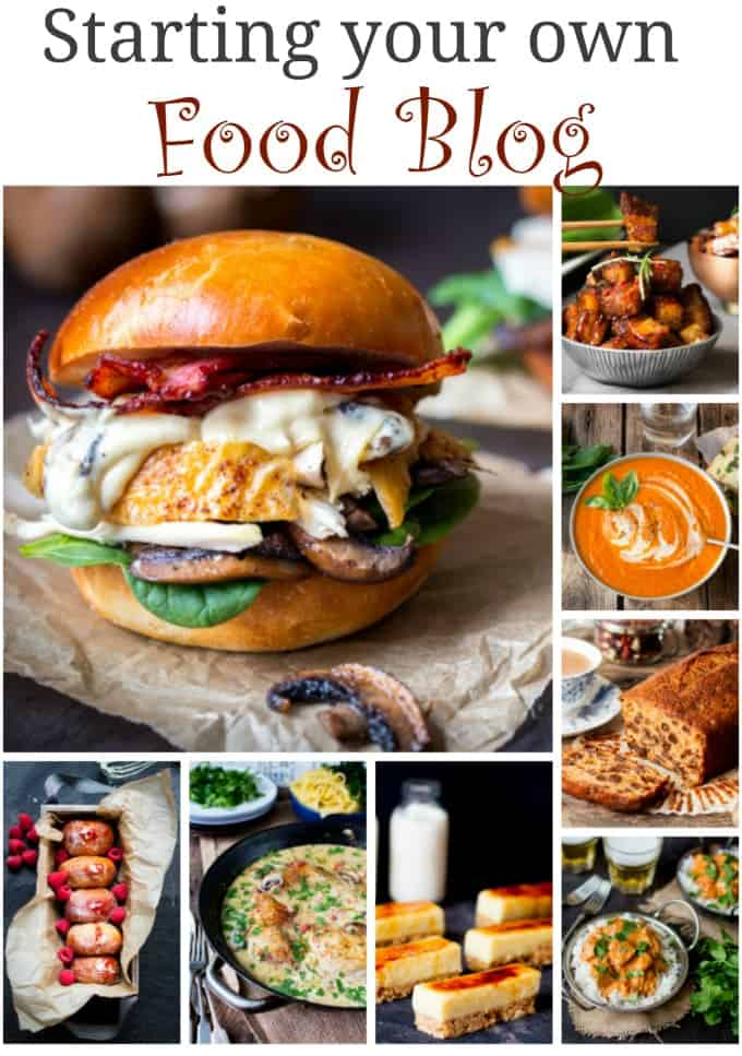 Top tips, recommendations and things to think about when starting your food blog.