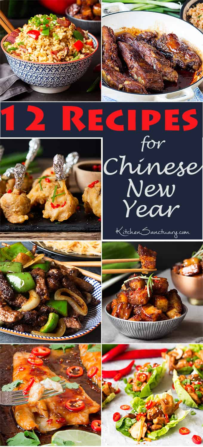 Recipe for chinese new year a selection of some of my favourite a selection of some of my favourite chinese inspired recipes recipe for chinese new year forumfinder Image collections